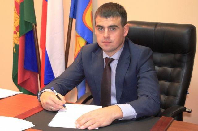 Глава Темрюкского района Фёдор Бабенков.
