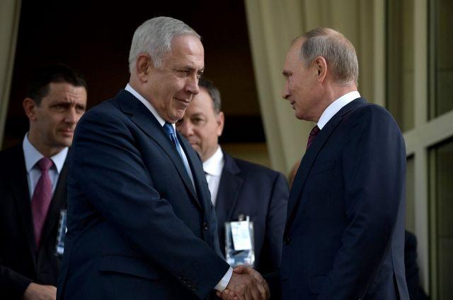 Встреча Путина и Нетаньяху перенесена на 27 февраля