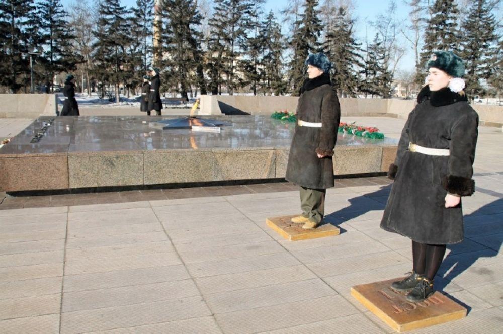 Мероприятия, посвященные дню защитника Отечества, в Иркутске продолжатся.