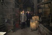 Губернатор посетил котельную №33, находящуюся на территории ЦОФ «Черкасовская».