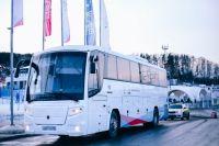 Для трансфера задействуют 20 комфортабельных автобусов..