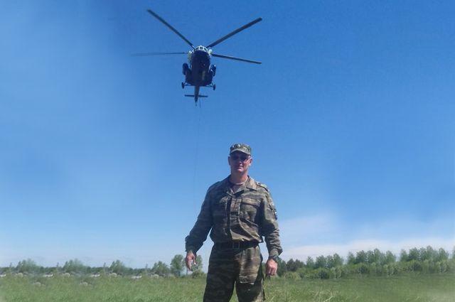 У подполковника за спиной — семь командировок в «горячие точки».