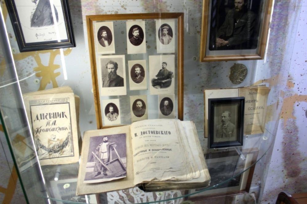 Экспозиция в Литературном музее.