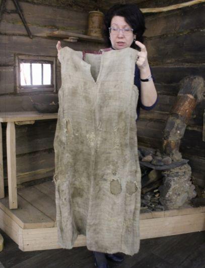 Платье отшельницы Агафьи.