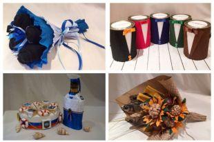 Креативные подарки своими руками.