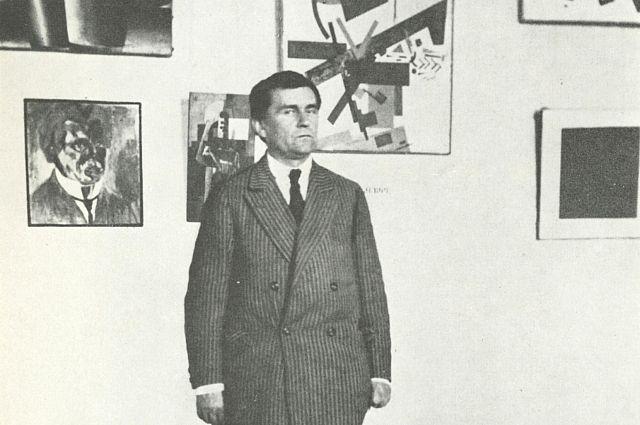 Казимир Малевич в Ленинграде, 1924 г.
