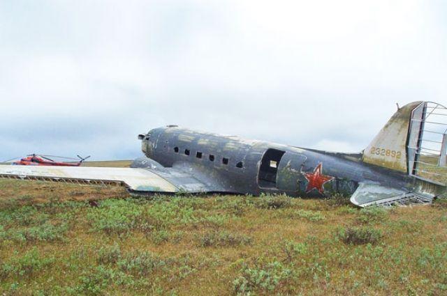 Отдельные элементы самолёта уже отреставрированы.