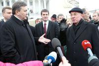 Президент Украины Виктор Янукович и премьер-министр Украины Николай Азаров, Киев, 2010 год.