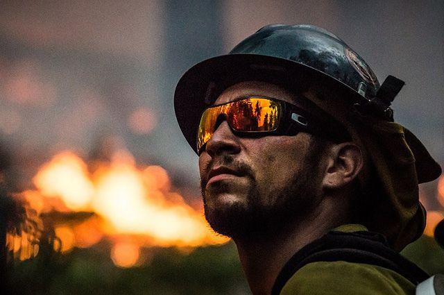 Ночью в тюменском ТЦ Зеленый берег произошел пожар