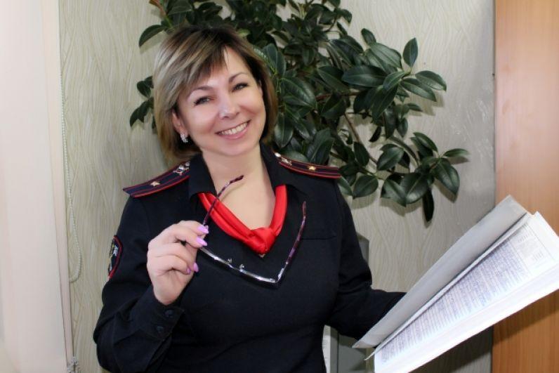Войтова Лариса, старший инспектор штаба УМВД России по ЕАО.