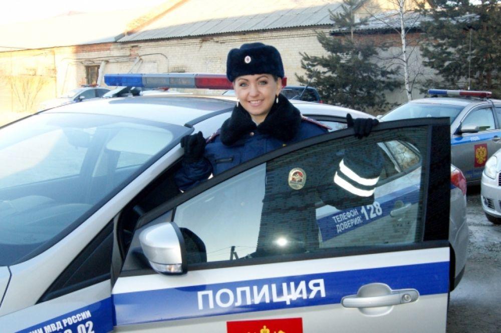 Клигунова Оксана, инспектор по о.п.  группы  пропоганды БДД ГИБДД УМВД России по ЕАО.