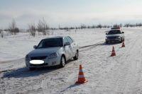 В Соль-Илецке в ДТП пострадал 3-летний пассажир «Лады»