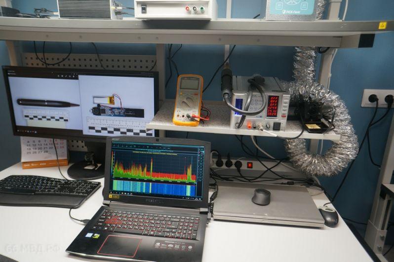 Лаборатория радиоэлектронных устройств предназначена для исследования гаджетов.