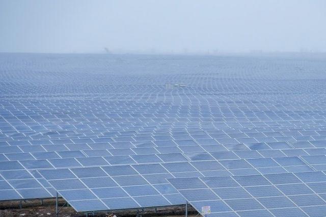 В Украине начала работать самая крупная солнечная электростанция