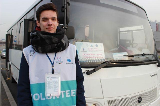 Для жителей и гостей города Красноярск до окончания соревнований будут ходить 22 бесплатных автобуса-шаттла, оформленные в стиле универсиады.