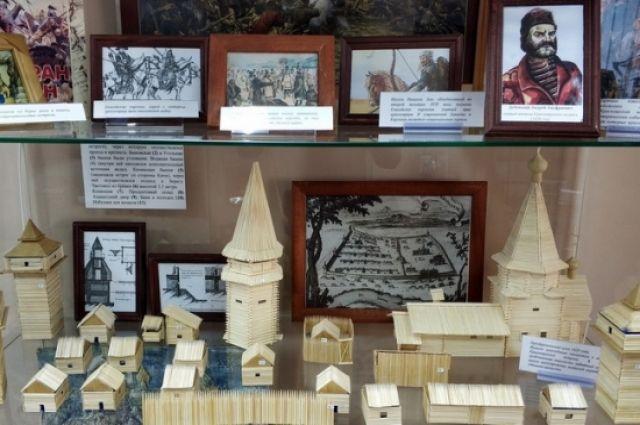 Мини-музей охватывает историю Красноярска за период с 17 по 21 век
