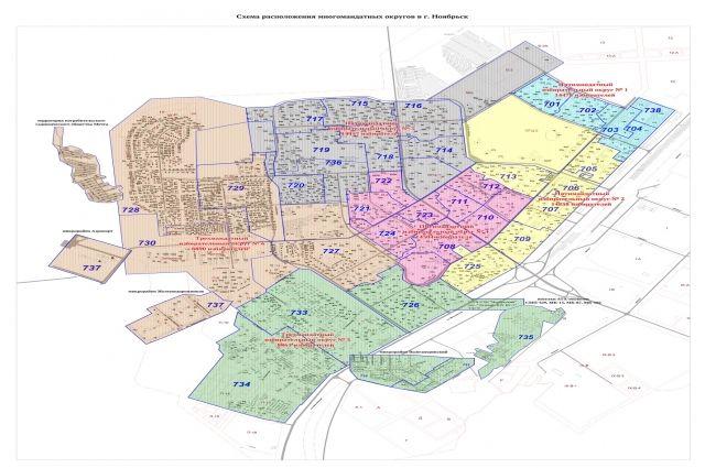 В Ноябрьске изменилась схема избирательных округов