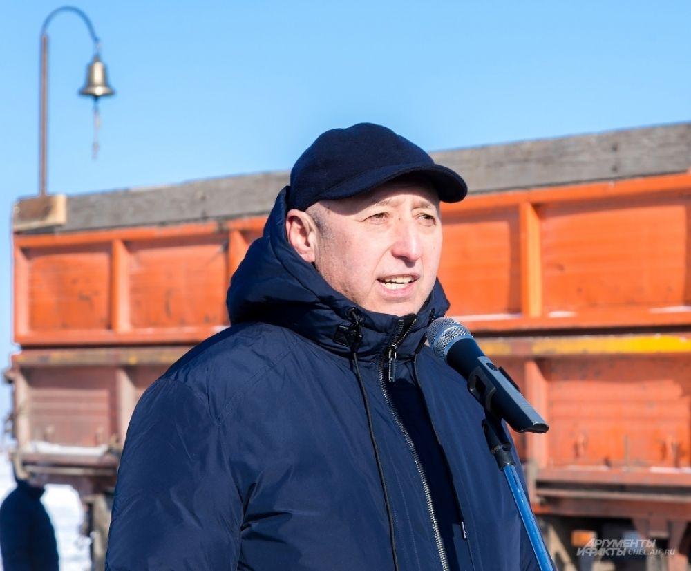 Глава Верхнеуральского района Сергей Айбулатов.