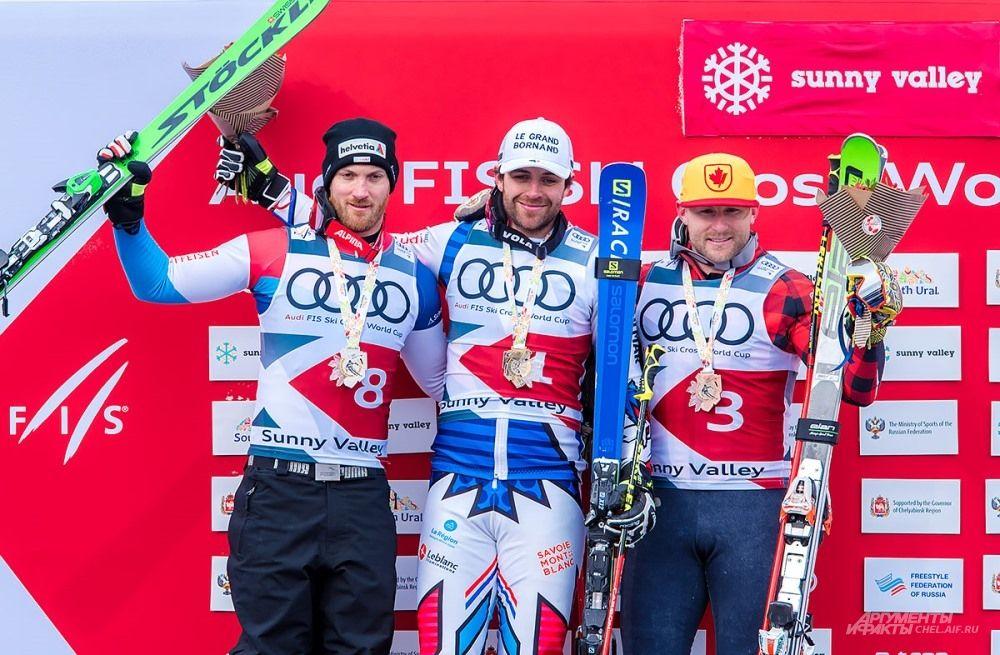 Победители соревнований среди мужчин.