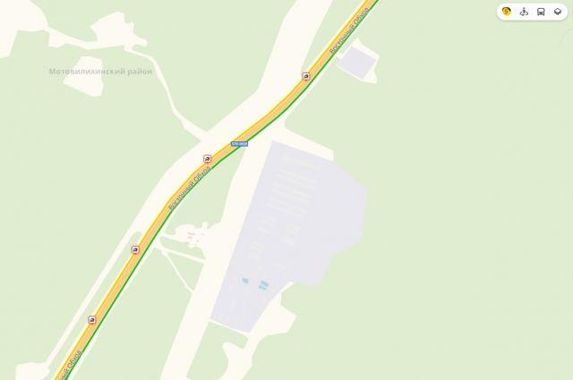 Четыре аварии произошли на одном участке за одно утро.