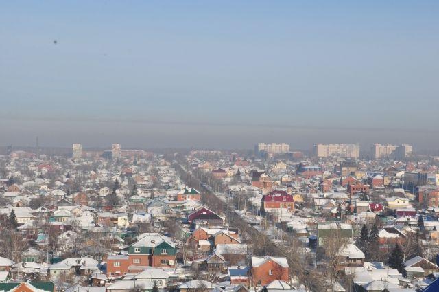 Частного сектора в Омске предостаточно