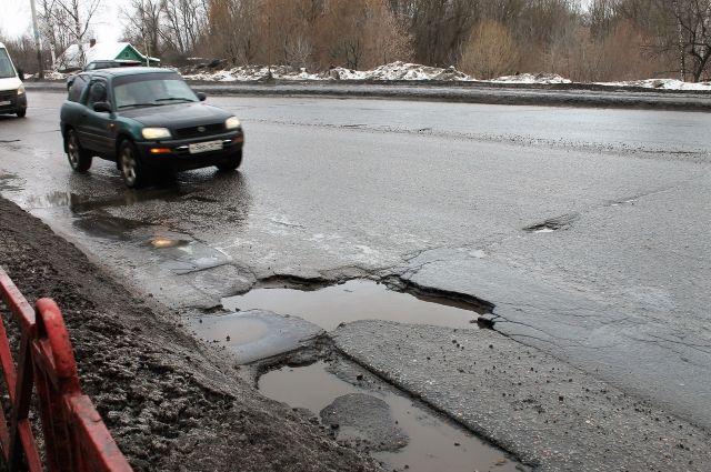 Повредить машину на такой дороге ничего не стоит.