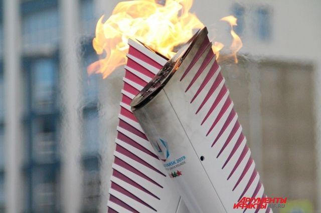 1 марта огонь пронесут по улицам Красноярска.