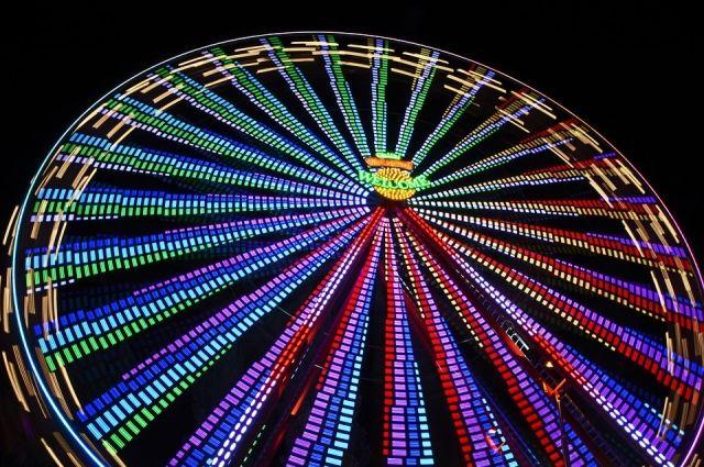 В Сыктывкаре появится колесо обозрения.