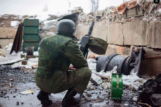 Позиции украинских военнослужащих обстреляли управляемыми ракетами, - ООС