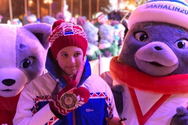 Биатлонистка Арина Солдатова завоевала две золотые медали на играх «Дети Азии».