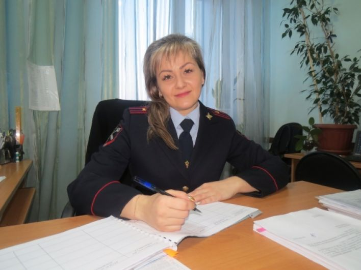 Кубарская Татьяна, старший инспектор штаба Северо-Восточного ЛУ МВД России на транспорте, майор внутренней службы.