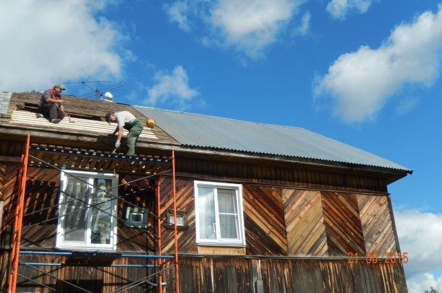 Только в поселке имени Горького 10 домов в очереди на капитальный ремонт.