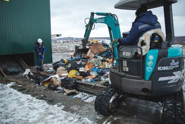 На Камчатке строятся несколько мусороперерабатывающих заводов.