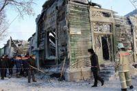 Памятник архитектуры в Барнауле, который уничтожил пожар