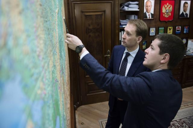 Глава Ямала встретился с министром по развитию Дальнего Востока и Арктики