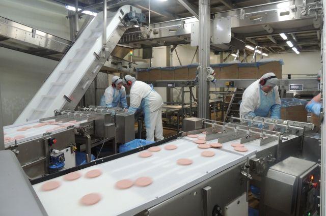 На заводе для производства полуфабрикатов самое современное оборудование.
