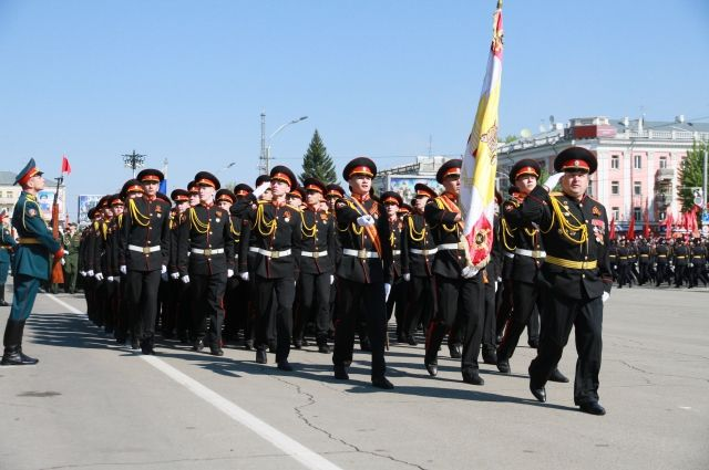 Парад Победы в Барнауле. 2016 г.