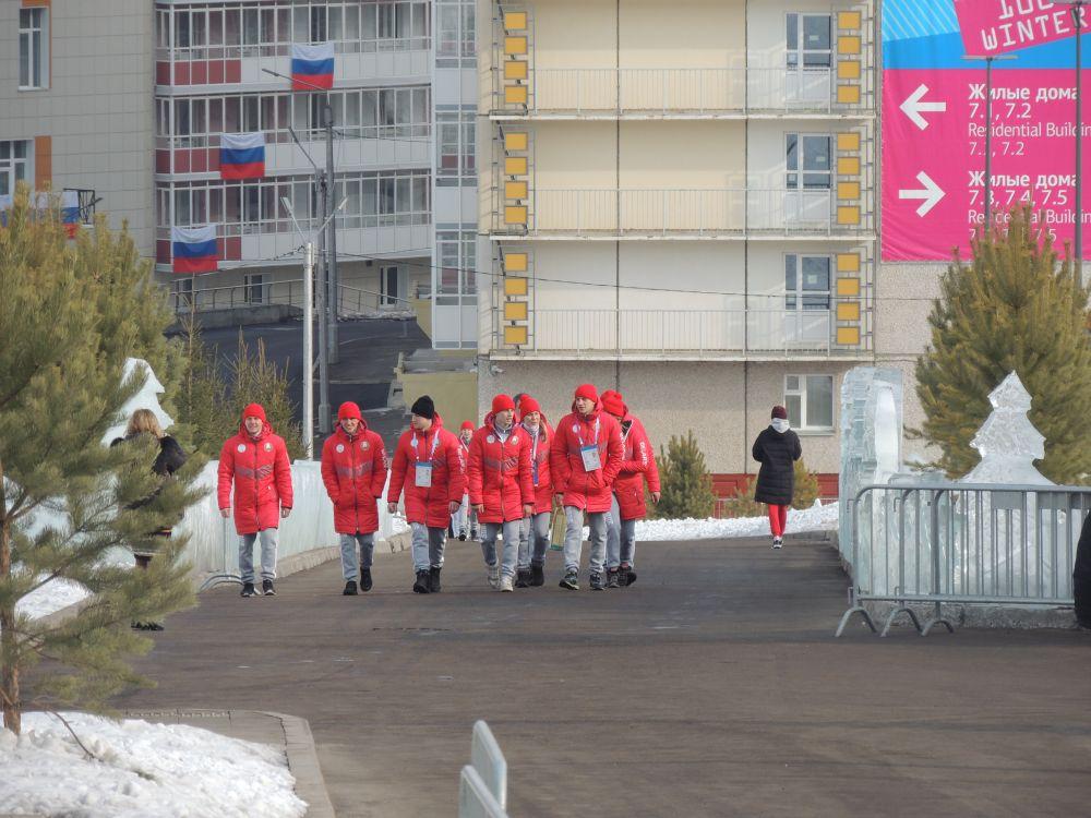 Спортсмены из Беларусии.
