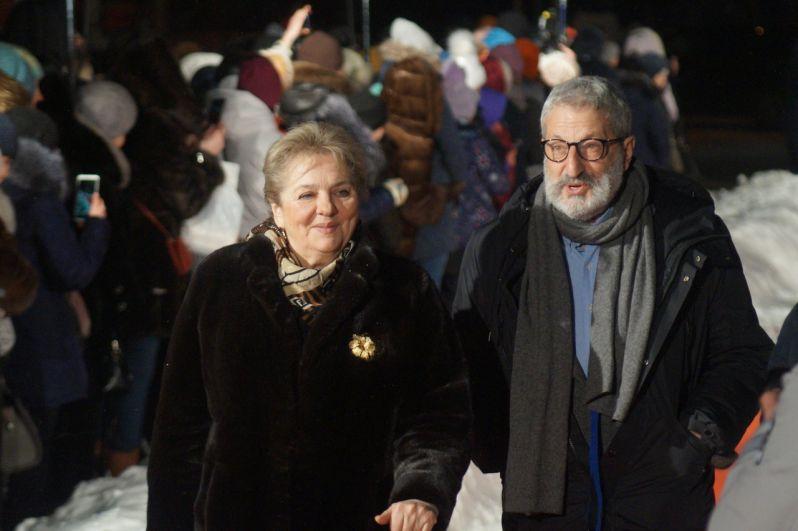 Вице-президент фестиваля Мария Зверева и Сергей Цигаль.
