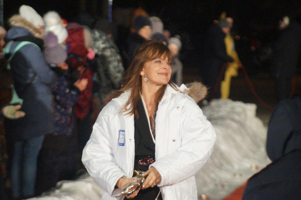 Приглашенная звезда - актриса Настасья Кински.