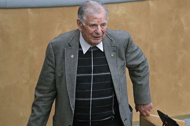 В Госдуме Жорес Алфёров входил в состав комитета по образованию и науке. Февраль 2018 г.