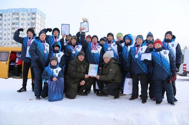 На соревнованиях в Надыме впервые приняли участие юные оленеводы