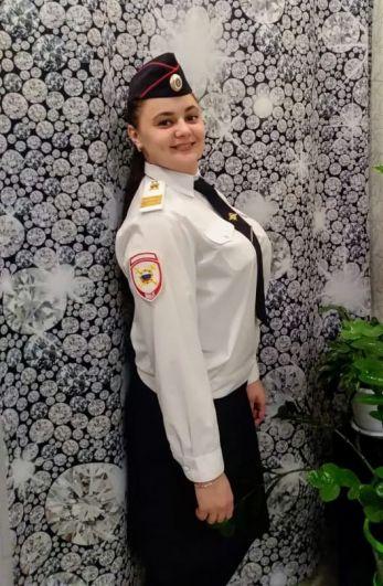 Куплинова Татьяна,полицейский отдельного взвода патрульно-постовой службы полиции ОМВД России по Николаевскому району.