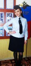 Зиновьева Ольга, полицейский (кинолог) отдельного взвода патрульно-постовой службы полиции ОМВД России по Николаевскому району.