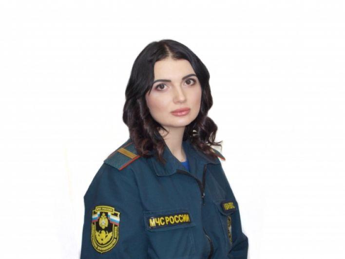 Иванова Маргарита, работает радиотелефонистом в 30 ПСЧ ФГКУ