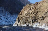 Уровень воды в реке Бурея Хабаровского края идет на спад.