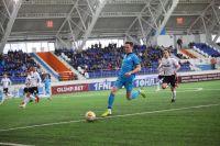Первый гол забил Артем Дудолев, второй мяч в ворота тюменцев забросил Павел Киреенко на 39-й минуте.