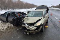 Под Оренбургом в ДТП с Opel и «ВАЗом» пострадал 8-летний ребенок