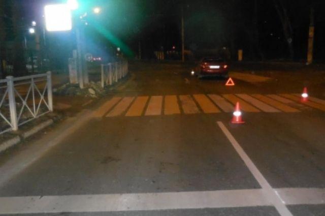 За выходные в области на пешеходных переходах сбили двоих детей