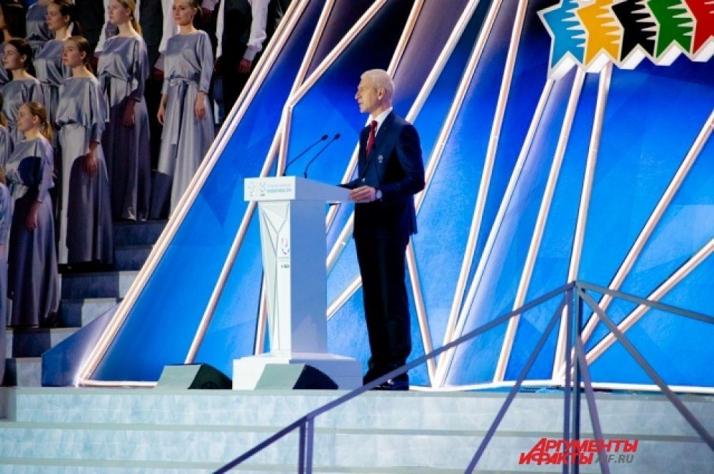Президент Международной федерации университетского спорта (FISU) Олег Матыцин назвал Студенческие игры в Красноярске одним из глобальных спортивных событий.
